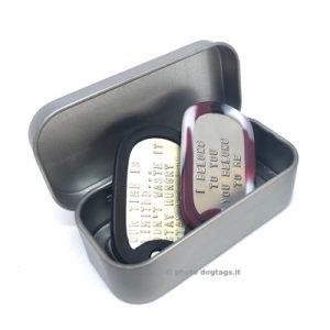 Box metallo misura mini